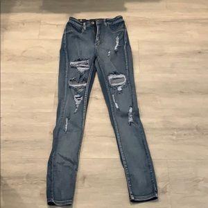 Fashion nova high waisted jeans size 5